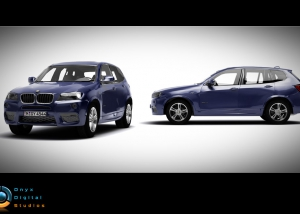 BMW X3 created for facebook game