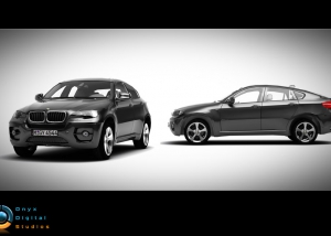 BMW X6 created for facebook game