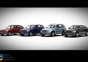 Collection of BMW X series for facebook game