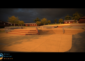 Skater on IOS - Woodward recreation