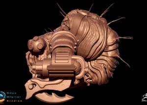 Creature based off a Gears of war concept