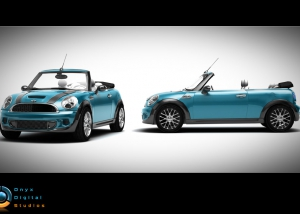 Mini Cabrio created for facebook game