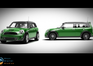 Mini Clubman created for facebook game