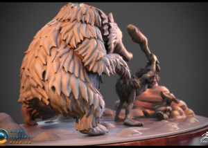 Sculpt based on an original concept by Frank Frazetta