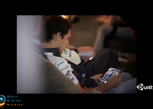 bruno senna practicing the course before driving it for real :)