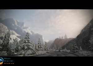 Snow racetrack create for Fast And Furious 6 game
