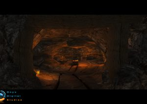 Cave stage for an ios rpg