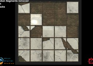 Substance designer tiles with parameters to add variation